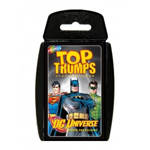 DC Universe Heroes and Villains Top Trumps Card Game