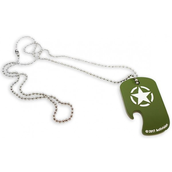 Call of Duty Dog Tag - WW2 Bottle Opener