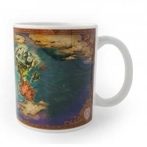 Ni No Kuni Mug - World Map