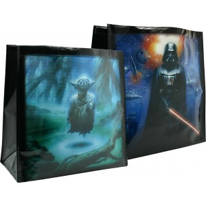 Star Wars Shopping Bag - Yoda/Vader