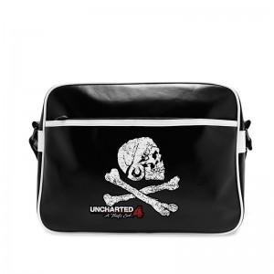 Uncharted Messenger Bag - Skull