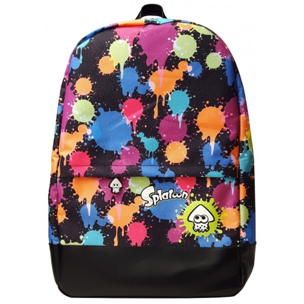 Splatoon Backpack - Ink Splatter