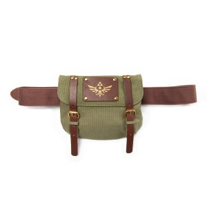 The Legend of Zelda Brown Belt with Satchel