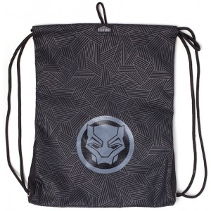 MARVEL Black Panther Gym Bag - Logo