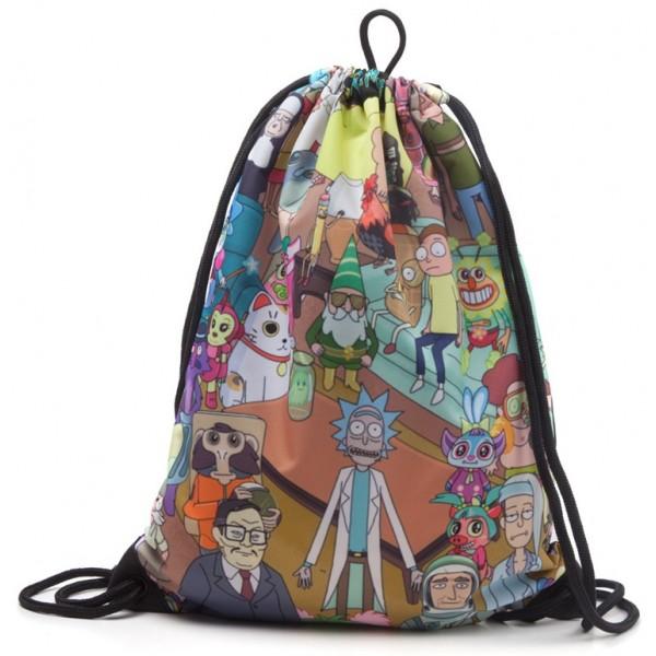 Rick and Morty Gym Bag - Characters