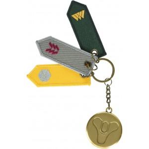 Destiny Metal Keyring - Guardian