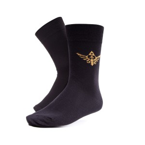The Legend of Zelda Socks - Golden Logo