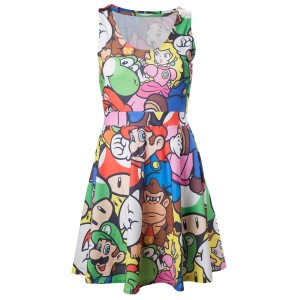 Super Mario Mario and Friends Dress