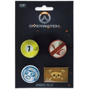 Overwatch Pin Set - Roadhog