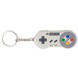 Nintendo Rubber Keyring - SNES Controller