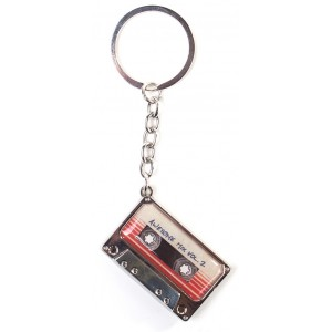 Marvel Guardians of the Galaxy Metal Keyring - Mixtape