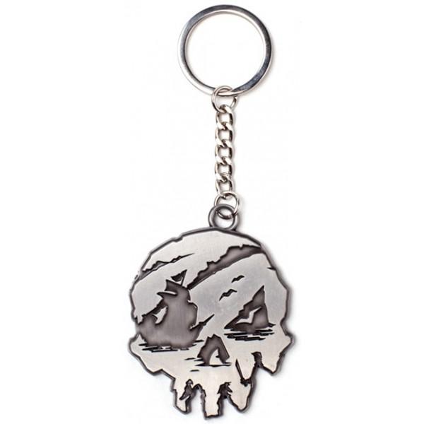 Sea of Thieves Metal Keyring - Skull
