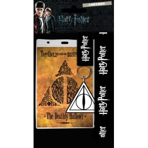 Harry Potter Lanyard - Deathly Hallows