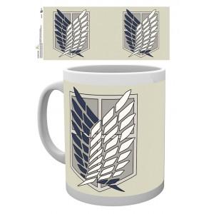Attack on Titan Mug - Badge