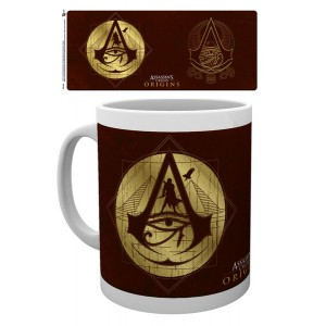 Assassin's Creed Origins Mug - Gold Icons