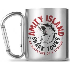Jaws Carabiner Mug - Shark Tours