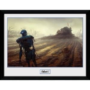 Fallout Collector Print - Farming Robot