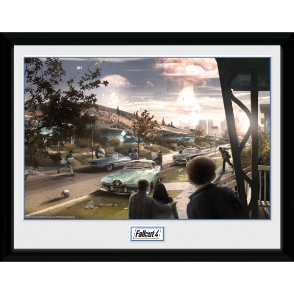 Fallout Collector Print - Sanctuary Hills Panic