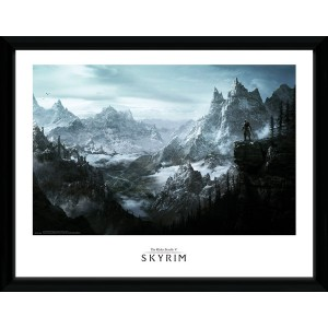The Elder Scrolls V Skyrim Collector Print - Vista