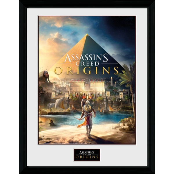 Assassin's Creed Origins Collector Print - Cover