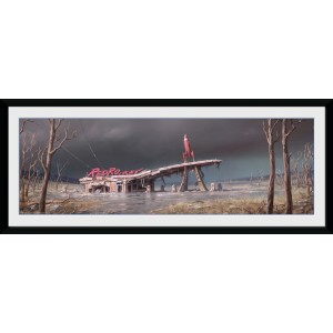 Fallout Framed Print - Red Rocket