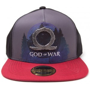 God Of War Cap - Metal Badge