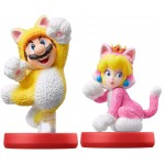 Amiibo: Cat Mario & Cat Peach