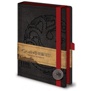 Game of Thrones Targaryen Premium Notebook