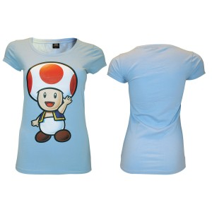 Super Mario Light Blue Toad T-Shirt