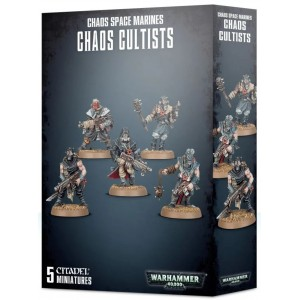 Chaos Space Marines Chaos Cultists