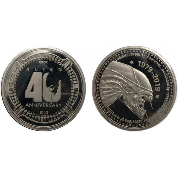 Alien Coin - 40th Anniversary