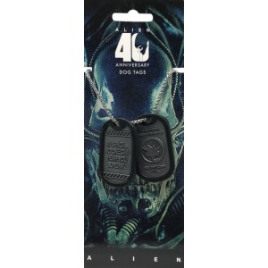 Alien Dog Tags - 40th Anniversary