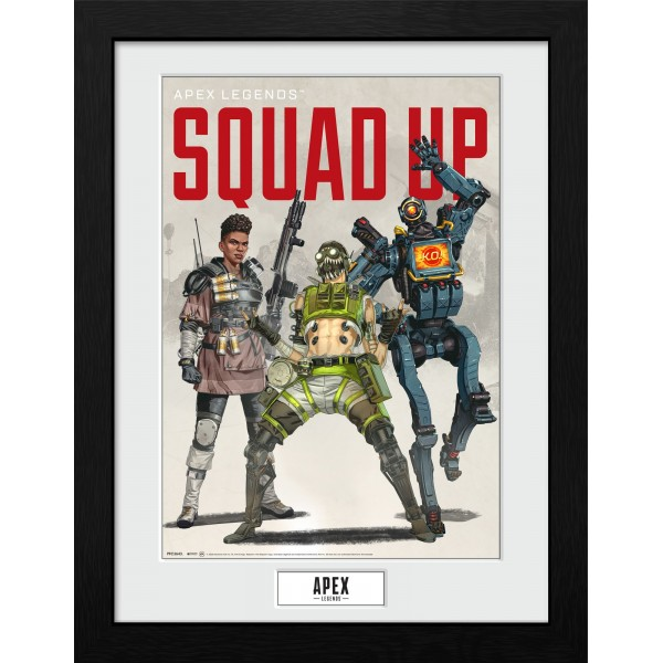 Apex Legends Framed Print - Squad Up