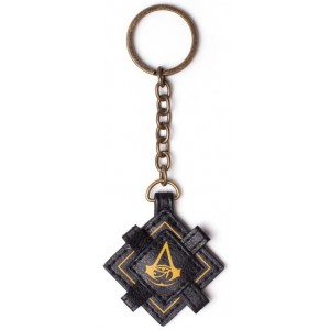 Assassin's Creed Origins PU Keyring - Crest