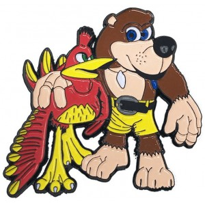 Banjo-Kazooie Large Pin Badge