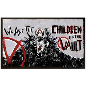 Borderlands Doormat - Children of the Vault