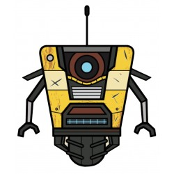 Borderlands Plush - Claptrap