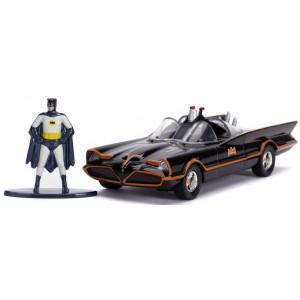 Batman 1966 Batmobile + Batman Figure 1:32