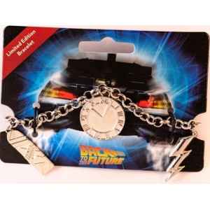 Back to the Future Charm Bracelet
