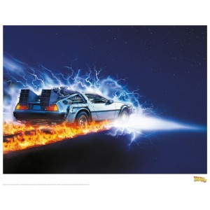 Back to the Future Print - 88mph