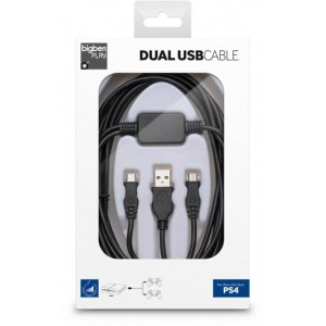BigBen Dual USB Cable