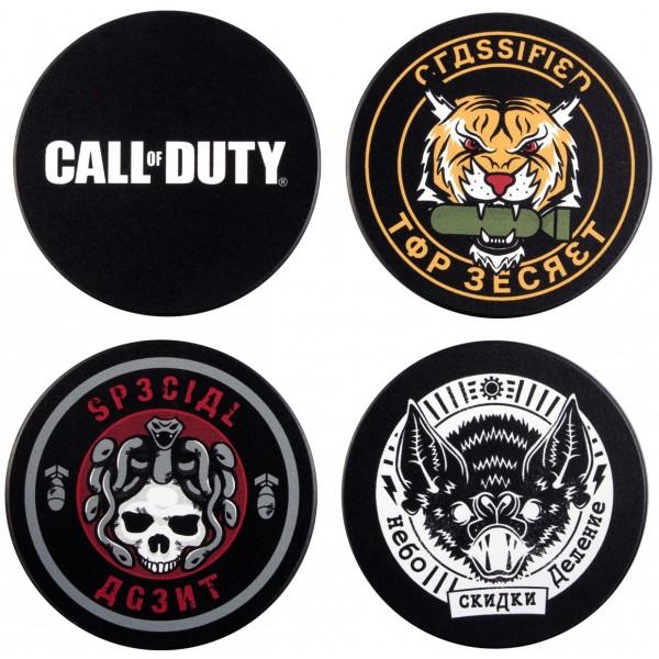 Call of Duty: Cold War Coaster Set - Badges