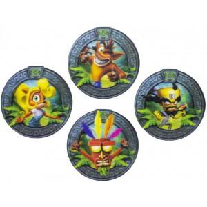 Crash Bandicoot Coasters