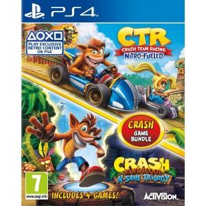 Crash Game Bundle: Team Racing + N'sane Trilogy