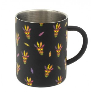 Crash Bandicoot Steel Mug - Aku Aku