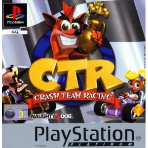 Crash Team Racing | PS1 Platinum Disc Only