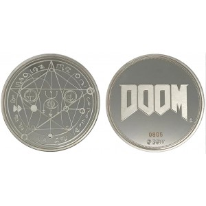 Doom Coin - Pentagram
