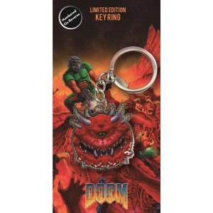 Doom Keyring - Cacodemon
