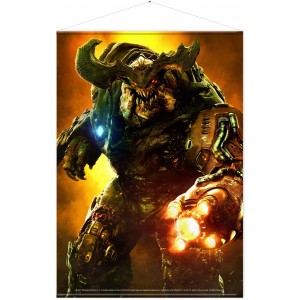 Doom Wallscroll - Cyber Demon