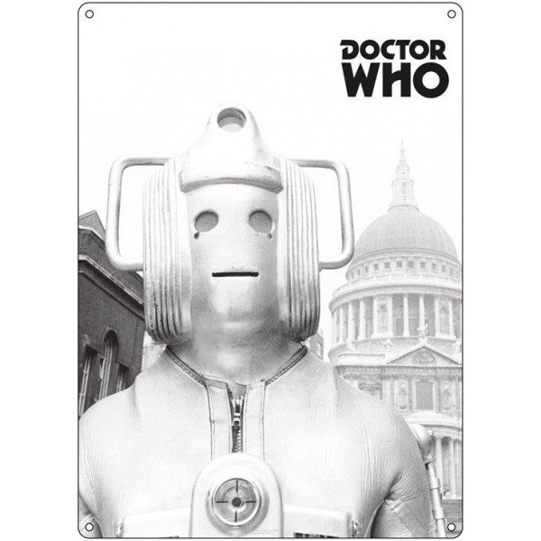 Doctor Who Tin Sign - Cyberman